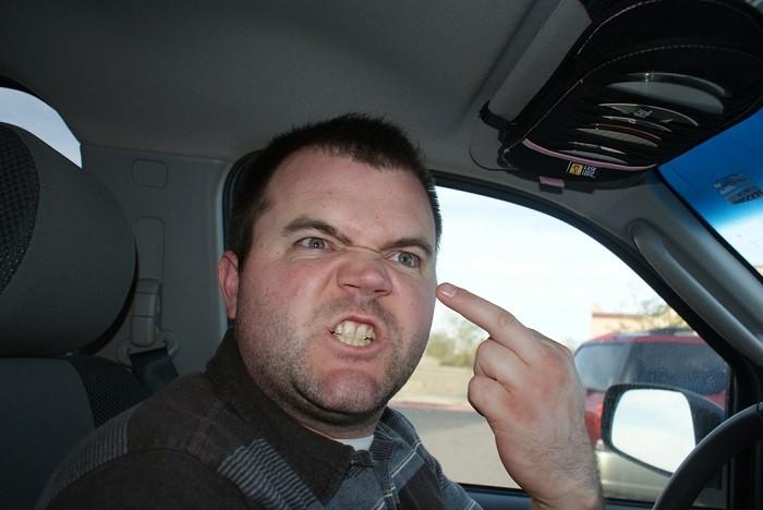 agressive driving