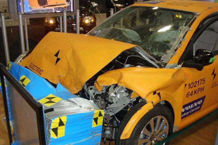 Crash-Tested Volvo C30 Electric