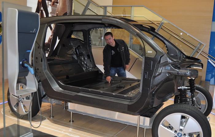 Chassis em carbono do BMW i3