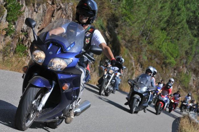 Concentração Motard e segurança rodoviária