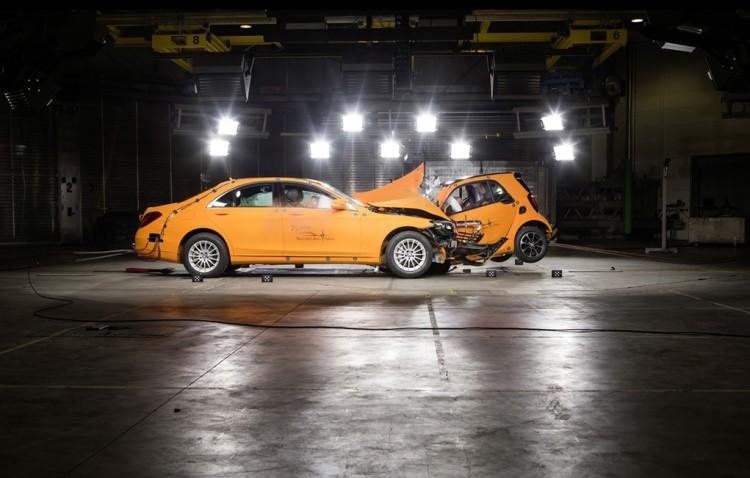 smart fortwo vs Mercedes S