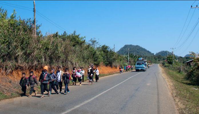 Regras da estrada para crianças e jovens