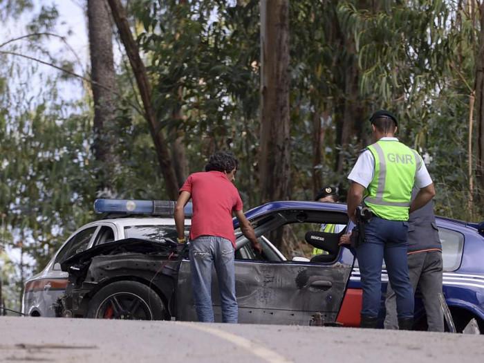 Acidentes rodoviários em Portugal aumentam