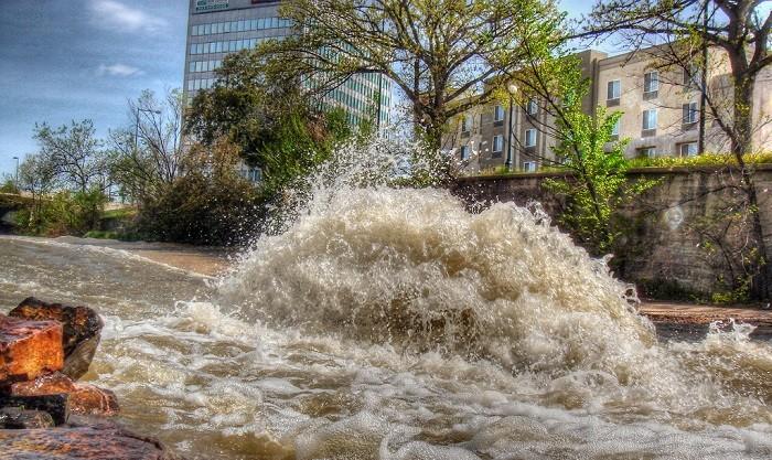 inundações relampago