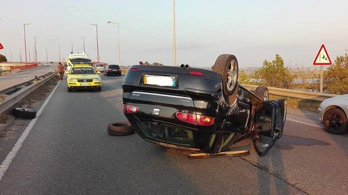 Nos acidentes rodoviários, os bombeiros são sempre os primeiros a ver a desgraça