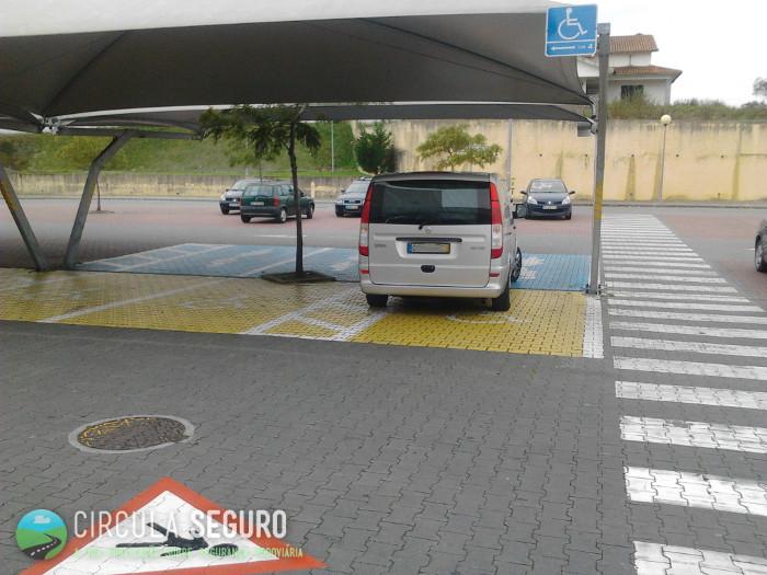 A educação ou falta dela nos parques de estacionamento