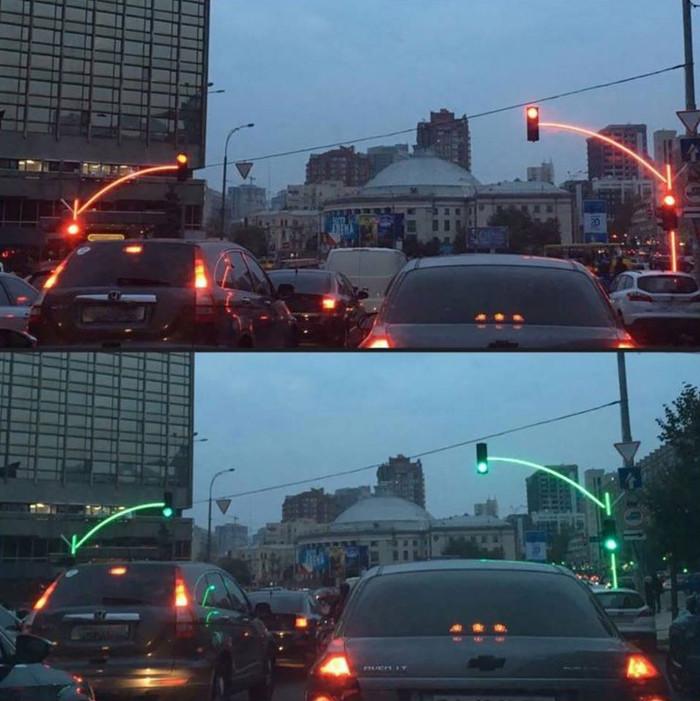 Novas tecnologias nos semáforos