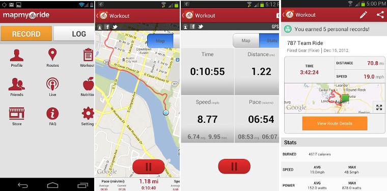 Map my Ride la mejor app para tus salidas en bici Vive 0 0