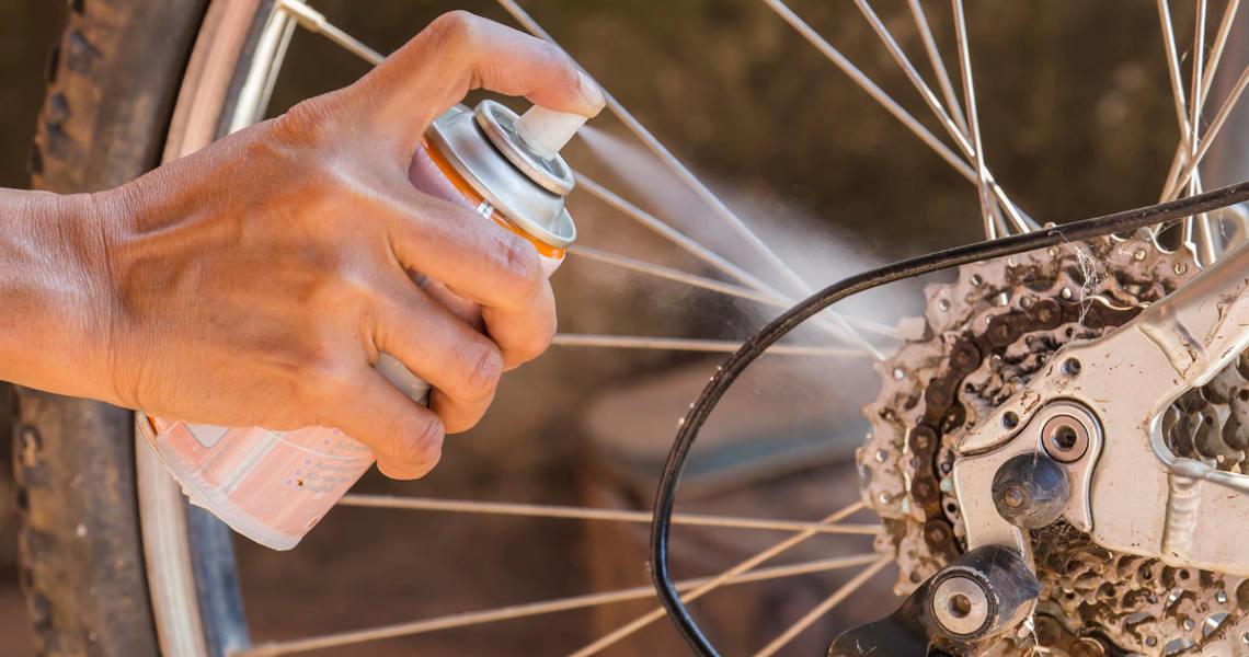 engrasar bici