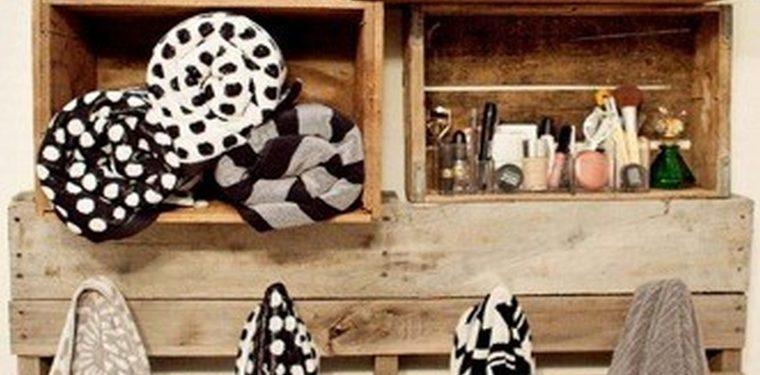 Muebles De Baño Reciclados:Una caja de vino puede convertirse en un mueble de doble uso, siendo
