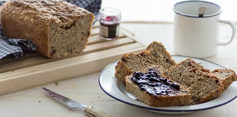 Pan de molde integral fácil