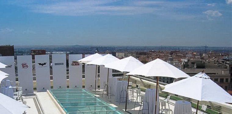 Las 7 mejores terrazas en madrid para olvidarte de la playa for Terrazas de verano madrid