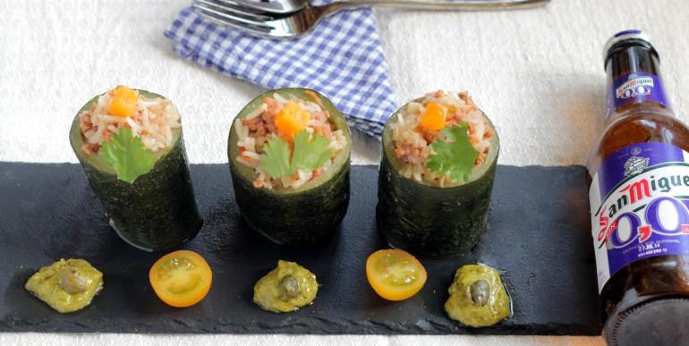calabacines receta aprovechamiento