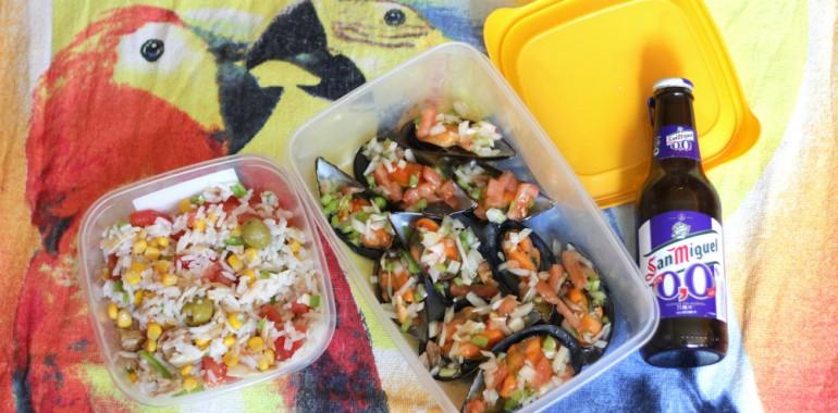 playa comida para llevar