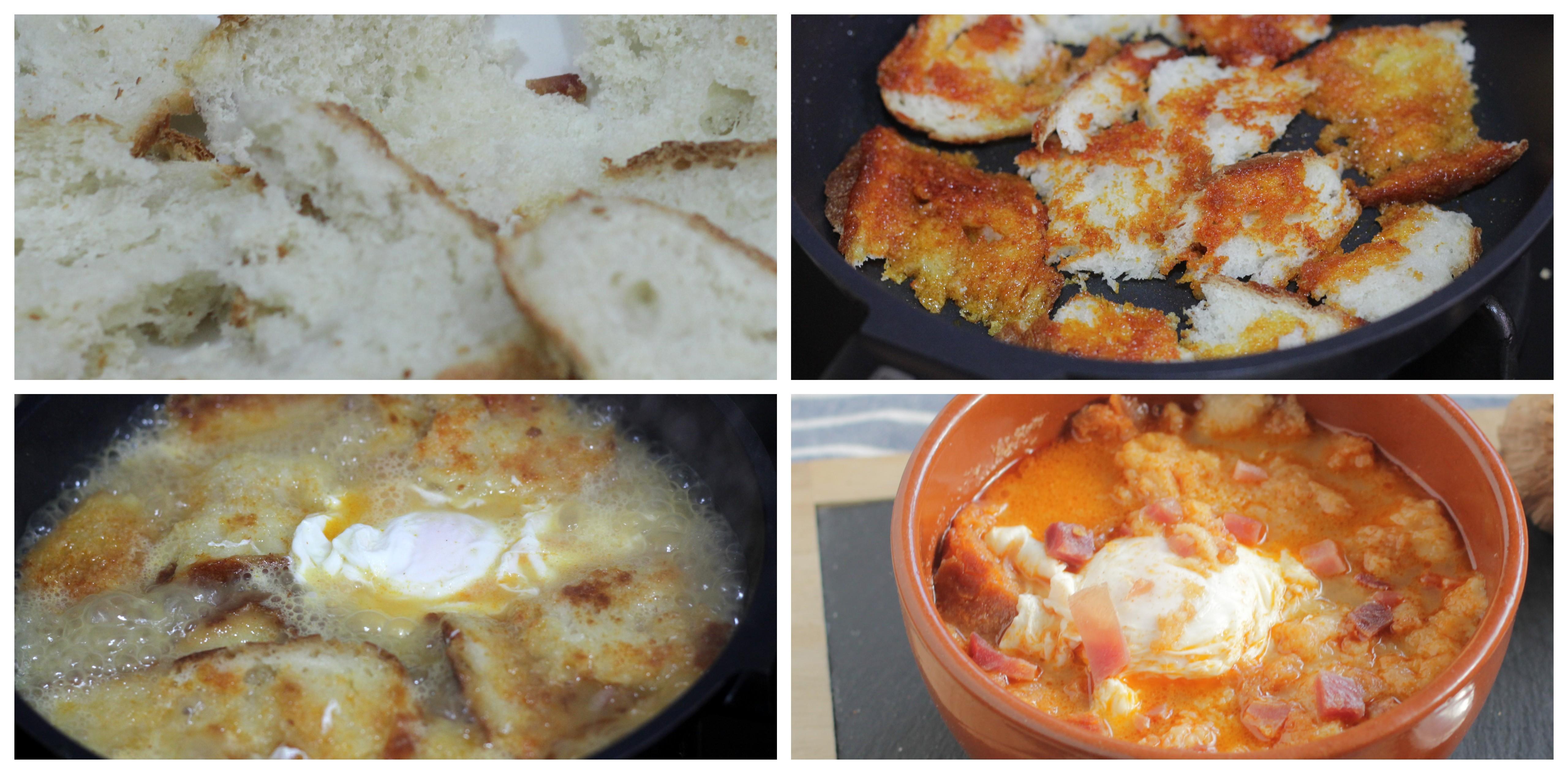 C mo hacer sopas de ajo o sopa castellana f cilmente - Sopa castellana casera ...