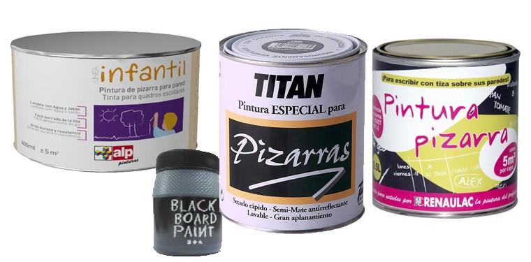 Reciclar muebles y paredes con pintura de pizarra - Pintura tipo pizarra ...