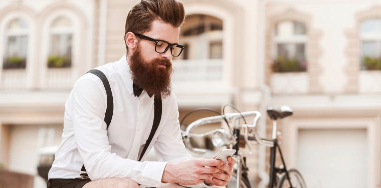 Bici conectada con el smartphone