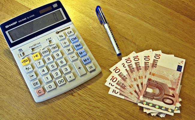 calculadora y euros