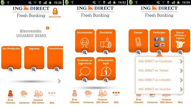 App Android ING DIRECT España