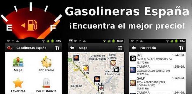 Buscar la gasolina más barata