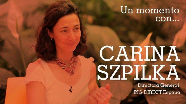 Carina Szpilka, CEO de ING DIRECT