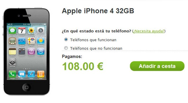 Compraventa de smartphones - Zonzoo.es