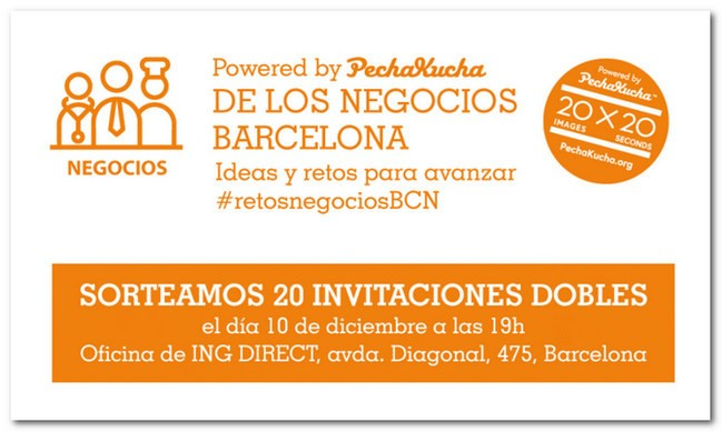 Gana una invitaci n doble para el evento cuando menos es for Oficinas ing direct barcelona