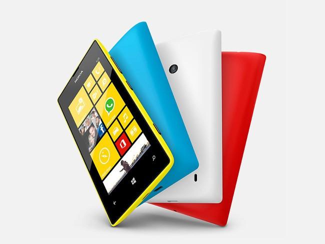Smartphones por menos de 200 euros - Nokia Lumia 520