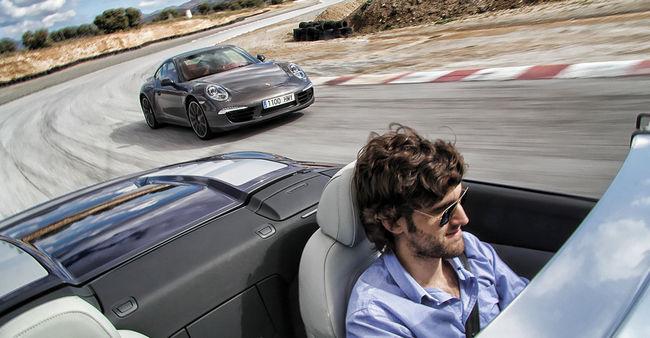 Daniel Seijo prueba Audi Porsche