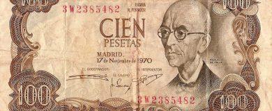 Billete de cien pesetashttp://img.blogs.es/ennaranja/wp-content/uploads/2014/11/Billete-de-cien-pesetas-390x160.jpg