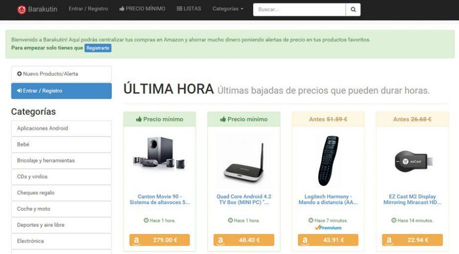 Herramientas para compra inteligente en Amazon - Barakutin - CamelCamelCamel