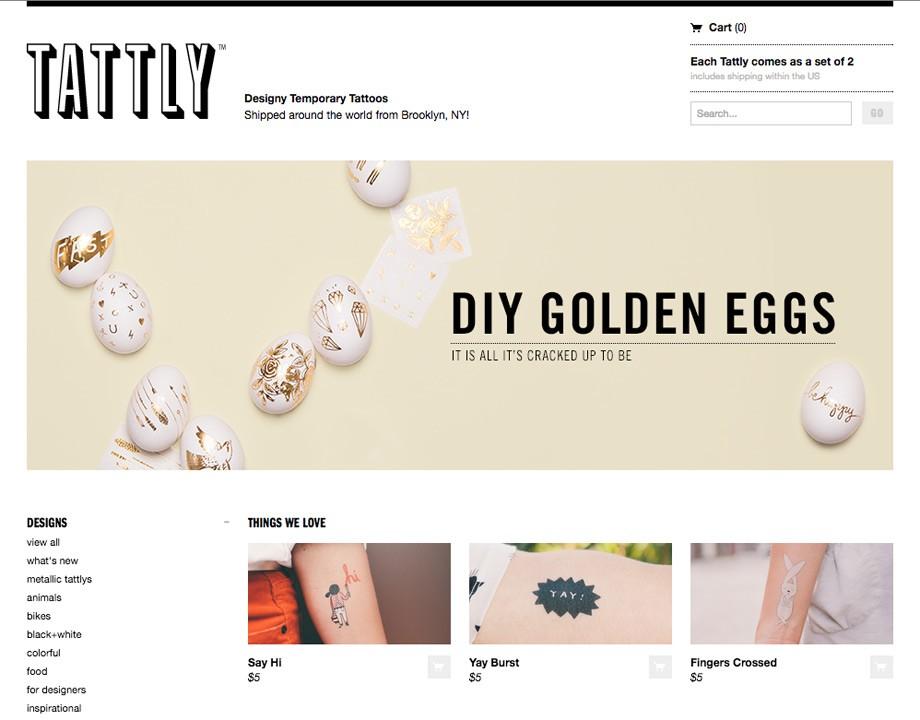 Ejemplo de tienda creada con Shopify