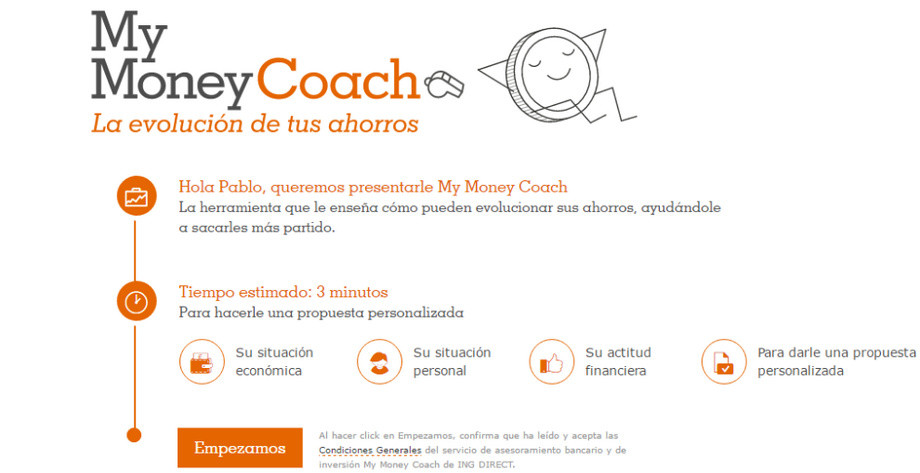 My Money Coach ING Direct Jubilación