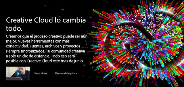 Creative Cloud de Adobe