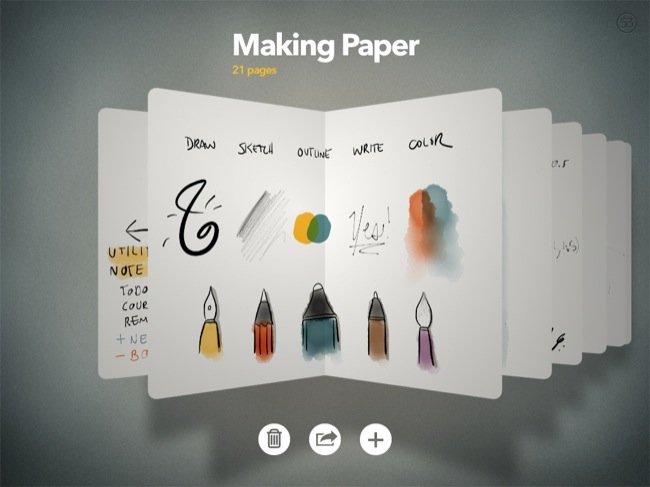 interfaz Paper