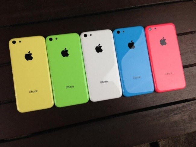 iPhone 5C en colores