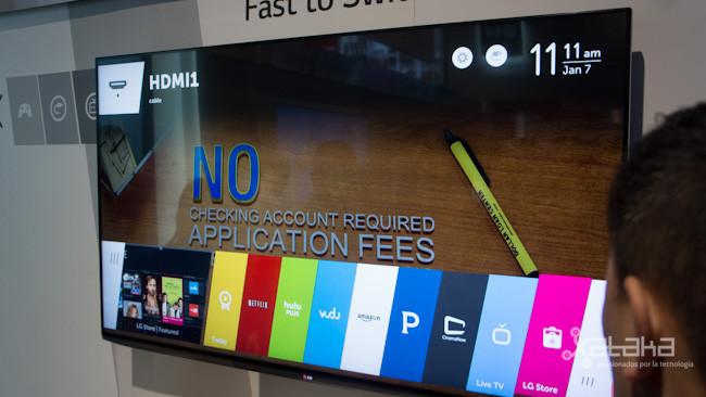 WebOs en la tele LG