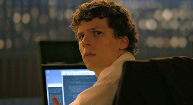 MArk Zuckerberg en la película la red social