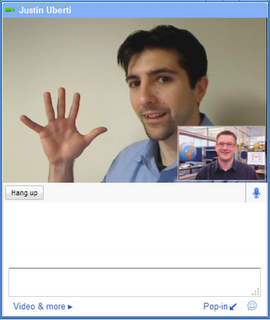 Video chat en GMail