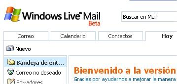 Captura Windows Live Mail