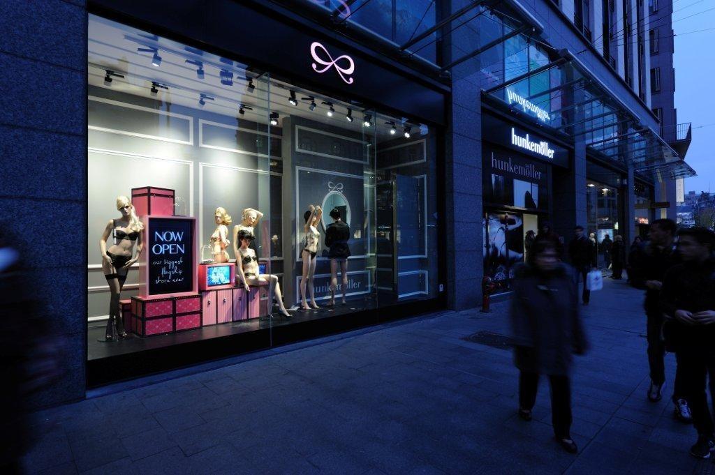 tendencias en iluminación en las tiendas de ropa