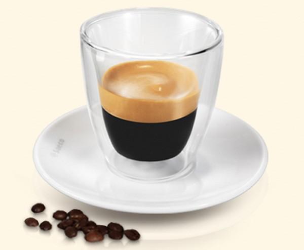 taza de cristal para espresso