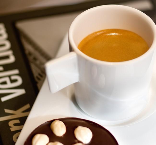 Taza de porcelana para espresso