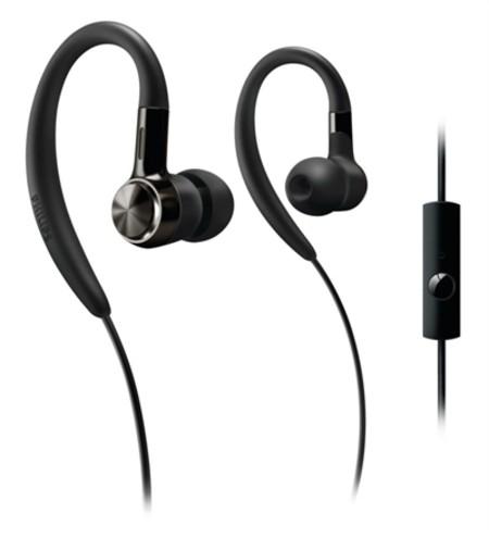 auriculares philips con gancho para la oreja SHS8105A