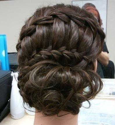 Tienes una boda esta primavera elige un peinado con for Trenza boda