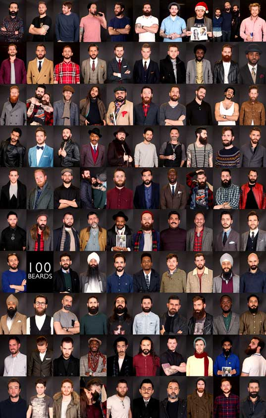100 Beards, 100 Days