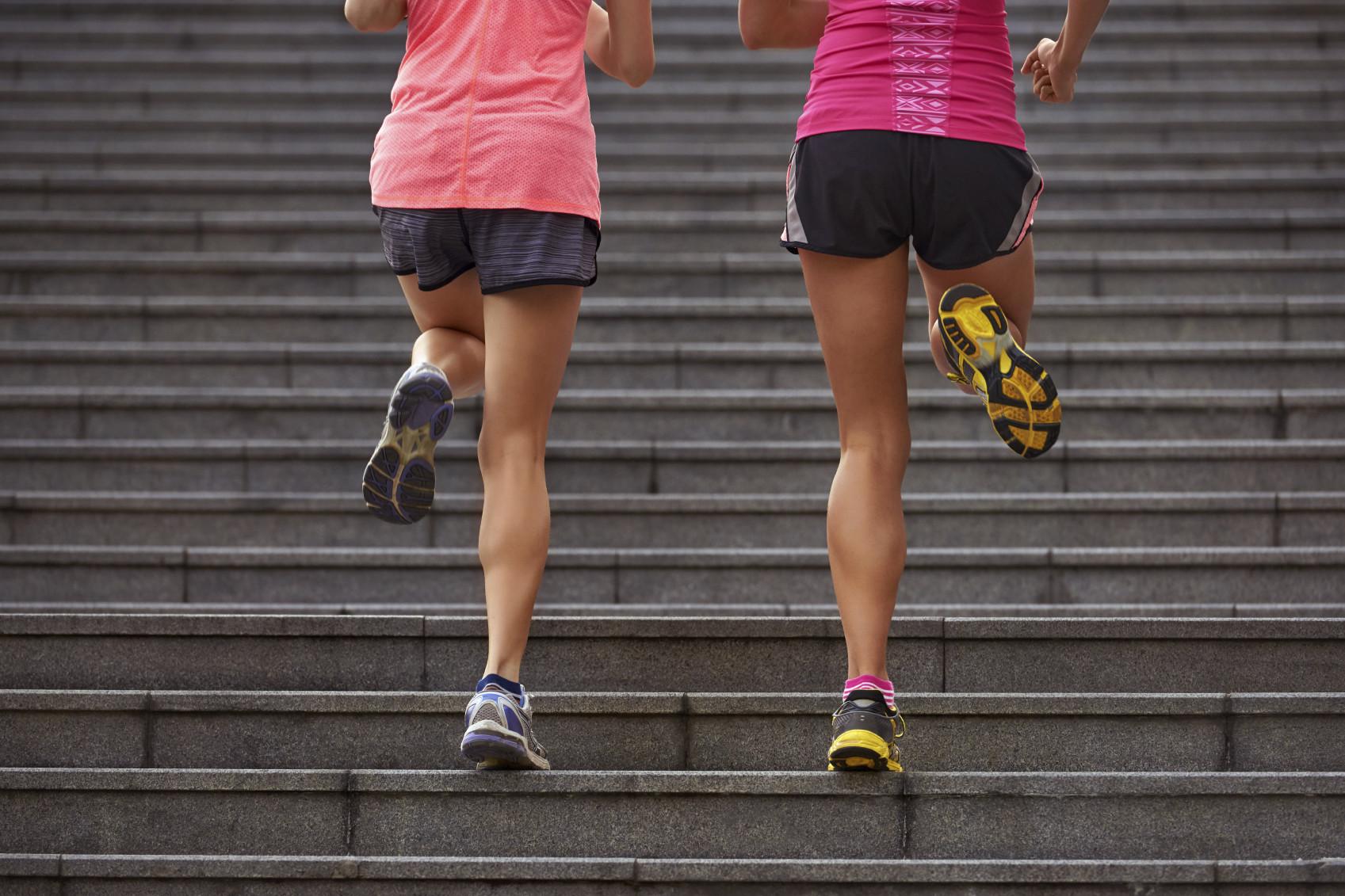 Piernas todav a m s bonitas con estos ejercicios en for Escaleras bonitas