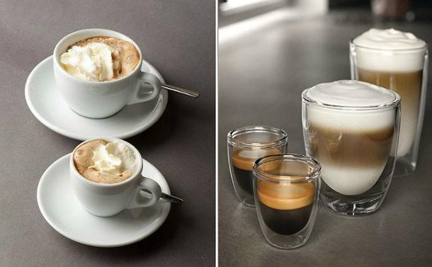 Taza vs vaso cu l elegir para degustar mejor el caf for Decoracion con tazas de cafe