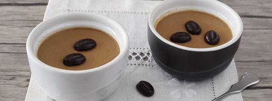 Pannacotta de café