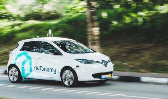 El primer taxi autónomo es un Renault ZOE
